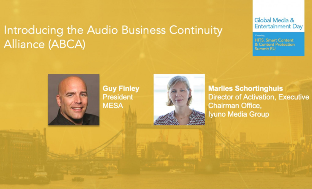 MESA M&E Day, audio business continuity alliance